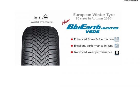 Yokohama dévoile son nouveau pneu hiver BluEarth*Winter V906