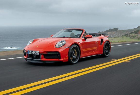 Porsche 911 Turbo S : pack Sport et pack Lightweight en option