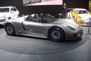 Porsche 918 Spyder concept de 2010