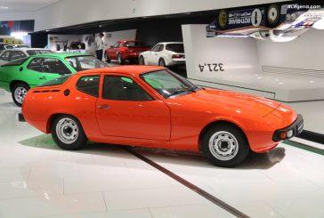 Porsche 924 Baustufe 1 de 1974 - Un prototype du projet EA 425