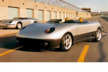 Wingho 928 Spyder - Un prototype de Porsche 928 Spyder