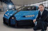 Présentation de la Bugatti Chiron Pur Sport à Molsheim