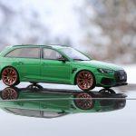 Miniature ABT RS4+ Viper Green GT Spirit au 1/18