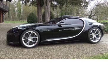 La Bugatti Atlantic concept de 2015 sort de l'ombre