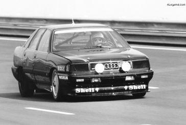 Records du monde de vitesse à Nardò avec une Audi 200 quattro en 1988