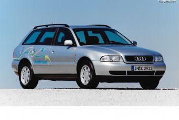Audi duo 3 de 1996 : la 3ème génération d'hybride sur base d'A4 Avant B5