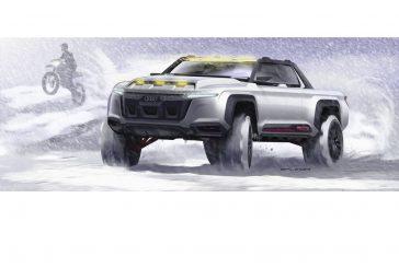 Audi quattro Truck - Une étude d'un pick-up Audi