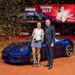 Histoire des voitures Porsche offertes au Porsche Tennis Grand Prix