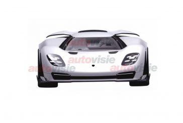 Une nouvelle hypercar Porsche en préparation?