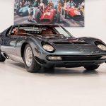 Rare Lamborghini Miura SV de 1972 avec kit aérodynamique – ex famille royale saoudienne