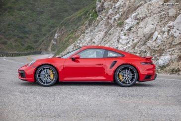 Porsche 911 Turbo S - Châssis très affûté avec des pneus mixtes