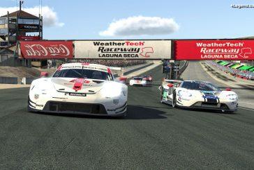 IMSA iRacing Pro - 5ème place pour la meilleure Porsche 911 RSR à Laguna Seca