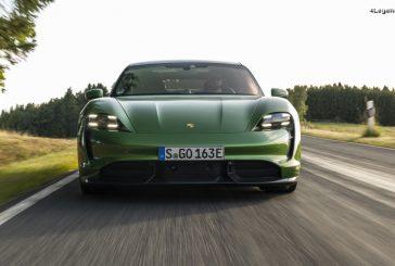Le Porsche Taycan élu voiture mondiale de l'année 2020