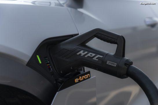 Technologie - Composantes de la recharge haute performance des Audi e-tron