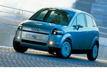 Audi Al2 de 1997 - Le concept car préfigurant l'A2