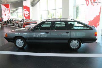 Audi duo 1 de 1989 - La première voiture hybride d'Audi sur base de 100 Avant quattro