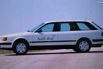 Audi duo 2 de 1991 - La seconde génération d'hybride sur base de 100 Avant quattro C4