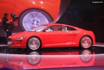 Audi e-tron concept de 2009 - Vision d'une supercar électrique