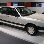 Audi Forschungsauto de 1981 – Innovation et aérodynamisme