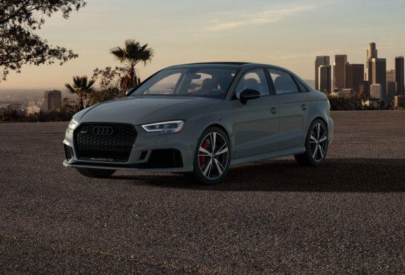 Audi RS 3 Nardo edition - Une série limitée de 200 exemplaires