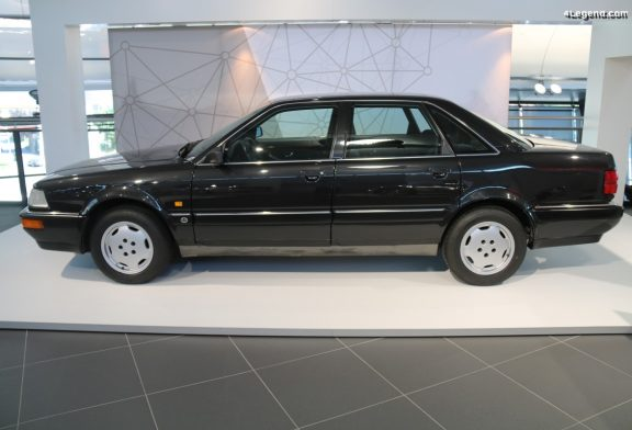 Prototype Audi V8 quattro à carrosserie en aluminium de 1988