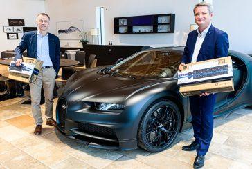 Bugatti - Opération de don d'ordinateurs pour les collégiens alsaciens