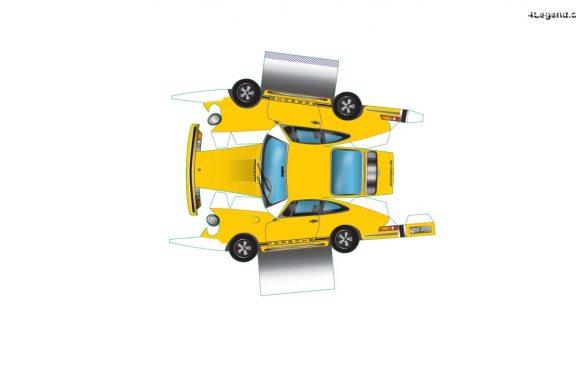Fabriquez votre Porsche 911 à la maison avec du papier