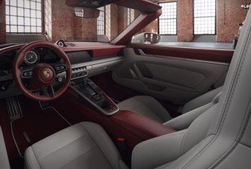 Intérieur en cuir bicolore pour la 911 par Porsche Exclusive Manufaktur