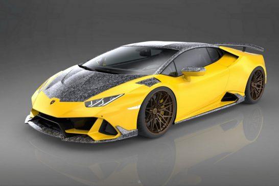 Un kit carbone pour la Lamborghini Huracán EVO par 1016 Industries