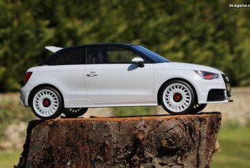 Présentation miniature au 1:18 Audi A1 quattro par DNA Collectibles