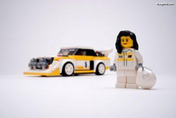 Audi et LEGO rendent hommage à Michèle Mouton avec une série limitée