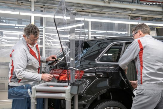 Redémarrage progressif de la production Audi en Europe
