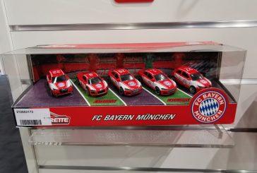 Spielwarenmesse 2020 - Miniatures Audi du FC Bayern au 1:64 par Majorette