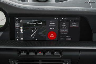 Plus de fonctions sur l'application Porsche Track Precision