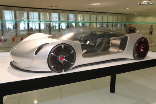 Porsche Thesis - Un concept car au 1:3 purement design