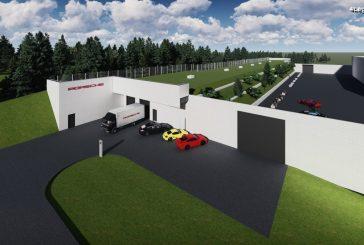 Un nouveau bâtiment de banc d'essai Porsche pour le développement des phares du futur