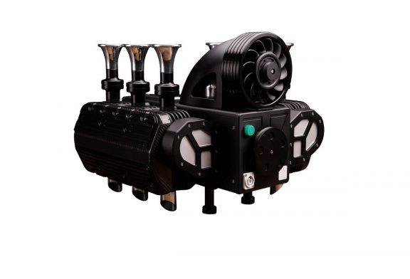 RS Black edition - Une machine à café à l'apparence d'un moteur Flat 6 Porsche