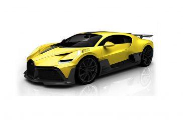 Configuration de la Bugatti Divo - Fabrication sur mesure