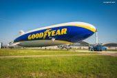 Retour du Blimp Goodyear en Europe : le fameux dirigeable cher à la marque