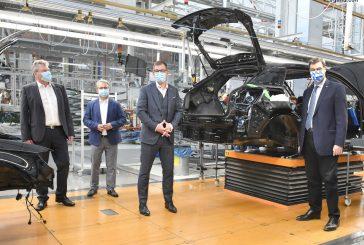 Le ministre-président Markus Söder visite l'usine Audi à Ingolstadt