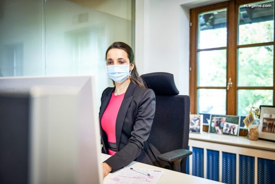 Bugatti en télétravail - Anja Utermark, directrice des Ressources humaines