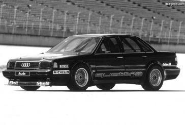 Audi 5000 CS quattro Talladega de 1986 - Un record de vitesse à 332 km/h