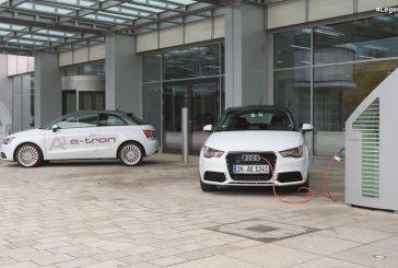 Audi A1 e-tron - La première Audi électrique produite entre 2010 et 2012