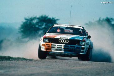 40 ans de l'Audi quattro - Souvenirs de 5 anciens membres de l'Audi UK Rally Team