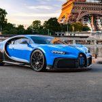 La Bugatti Chiron Pur Sport en tournée dans les métropoles européennes dont Paris