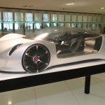 Porsche Thesis – Un concept car au 1:3 purement design