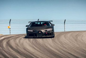 Des Bugatti Chiron Pur Sport en essai sur circuit