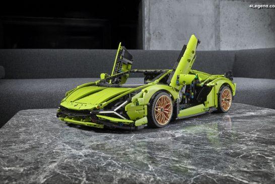 Lamborghini Sián FKP 37 par LEGO Technic