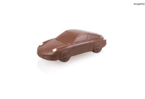 Des Porsche 911 en chocolat à manger