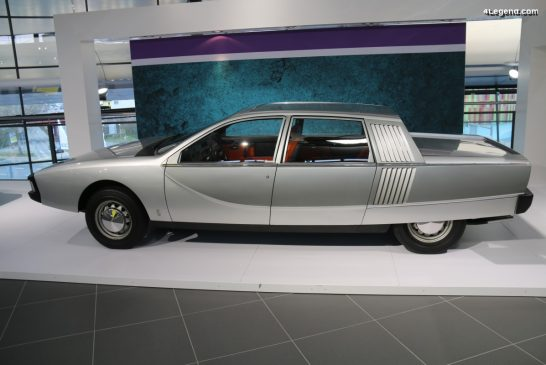 NSU Ro 80 Pininfarina de 1971 - Un concept de grande berline